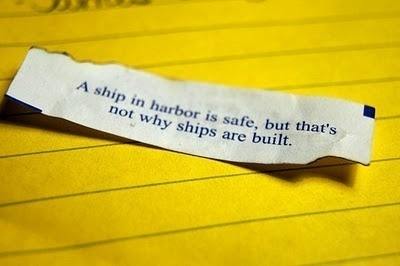 A ship in harbor is safe -- but that is not what ships are built for. Relationship is our ship...! let-s-talk-about-love personal-development personal-development personal-development