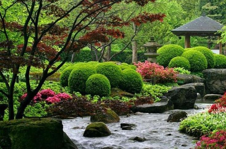 58 best Style-Asian Garden images on Pinterest | Asian garden ...