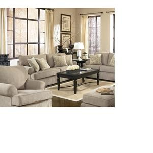 Nebraska Furniture Mart Ashley 3 Piece Microfiber Living Room Set 1220