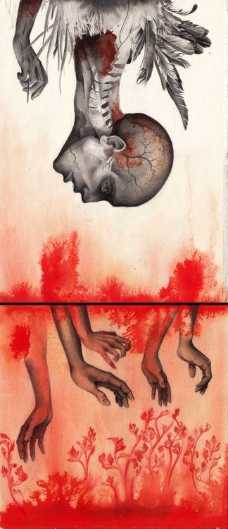 humanoid cocoon I, Iakovos Ouranos  #iakovosouranos #art #artist #pencil #ink