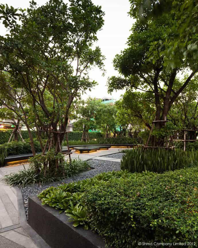 Life Ladprao Urban Park By Shma Designs In Bangkok Thailand การจ ดภ ม ท ศน สวน ทางเด น