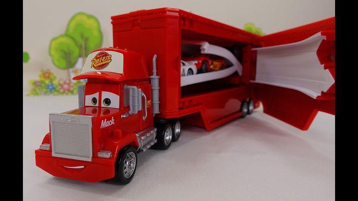 Transformateur camion Mack. Video le jouet du Disney Pixar the Cars. Le ...
