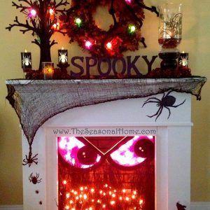 Indoor Halloween Decorations Ideas