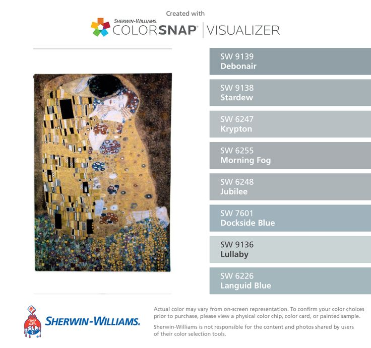 Morning Fog Paint Color Sw 6255 By Sherwin Williams View Interior ...