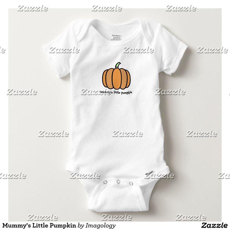 Mummy's Little Pumpkin Baby Onesie