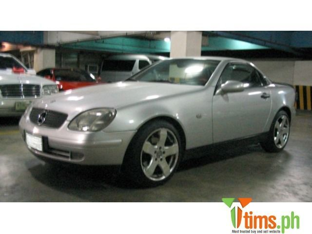Find the best and affordable brand new and second hand Cars and Sedan for sale at tims.ph - 1997 Mercedes Benz SLK 200, manual transmission, 2.0 liter EFI, roadster, color silver, 1st owner, dual airbag, ABS, mil...,