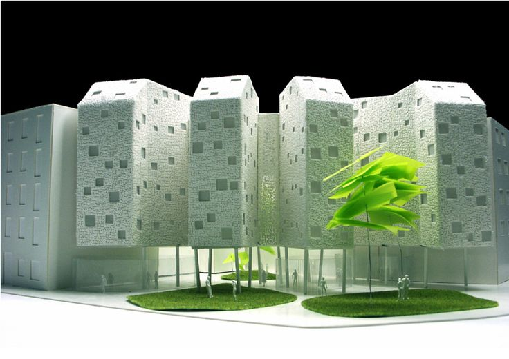 SOLID Architecture housing building eagle-alcatel. madrid