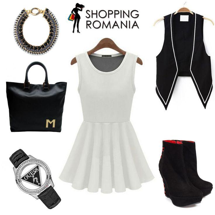 Black & White! www.shoppingromania.com