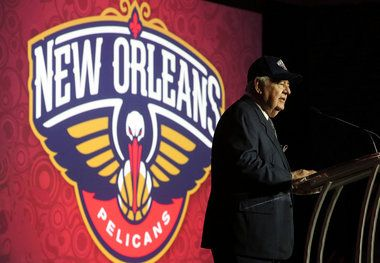 New Orleans Hornets owner Tom Benson officially announced Thursday afternoon that the Hornets' name will switch to the New Orleans Pelicans next season.