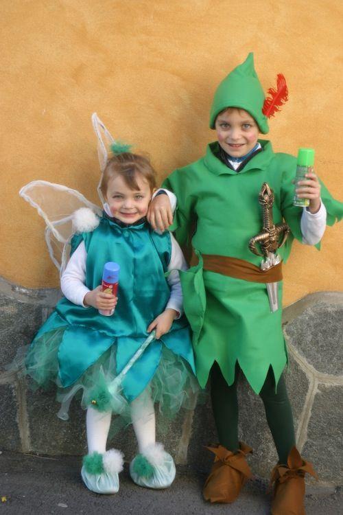 Costumi Peter Pan e Trilly / Peter Pan & Tinker Bell costume Autrice: Sara