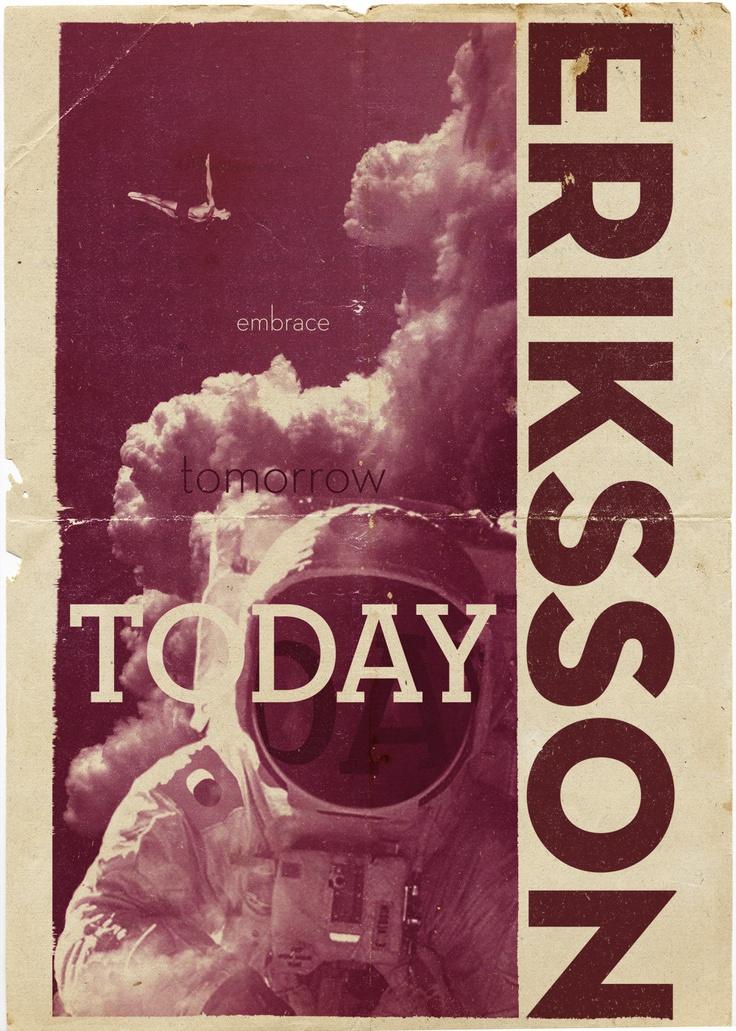 Historical poster for Eriksson family colinization program - illustration: leketoys.no