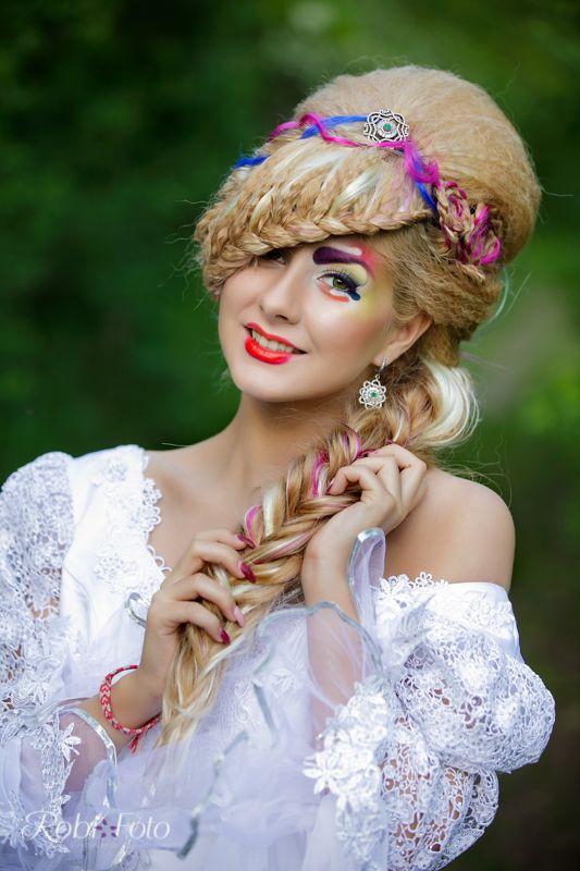 Ana Maria primavara portret beauty coafura Robi Foto