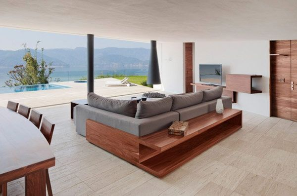 amazing views living room with great furnitureMinimalist Architecture, Luxury House, Open Spaces, Contemporary Furniture, The View, Living Room, Viva Mexico, Parque Humano, Ocean View
