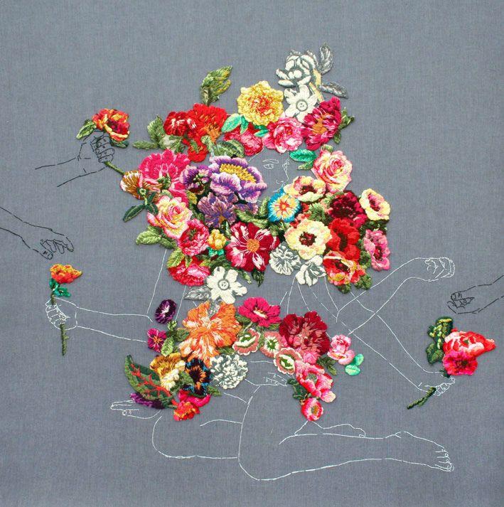 Ana Teresa Barboza | http://www.yellowtrace.com.au/2013/12/04/ana-teresa-barboza-embroidery/