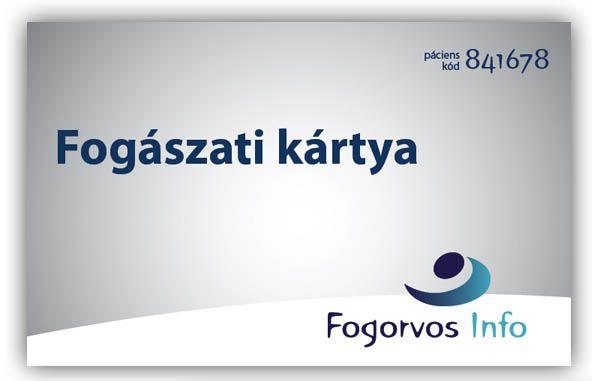 Igényeld névre szóló , nagy kedvezményekre és ajándékra  jogosító , INGYENES FOGÁSZATI KÁRTYÁDAT !  amit, személyesen átvehetsz rendelőnkben .  http://kartyaregisztracio.fogorvosinfo.hu/