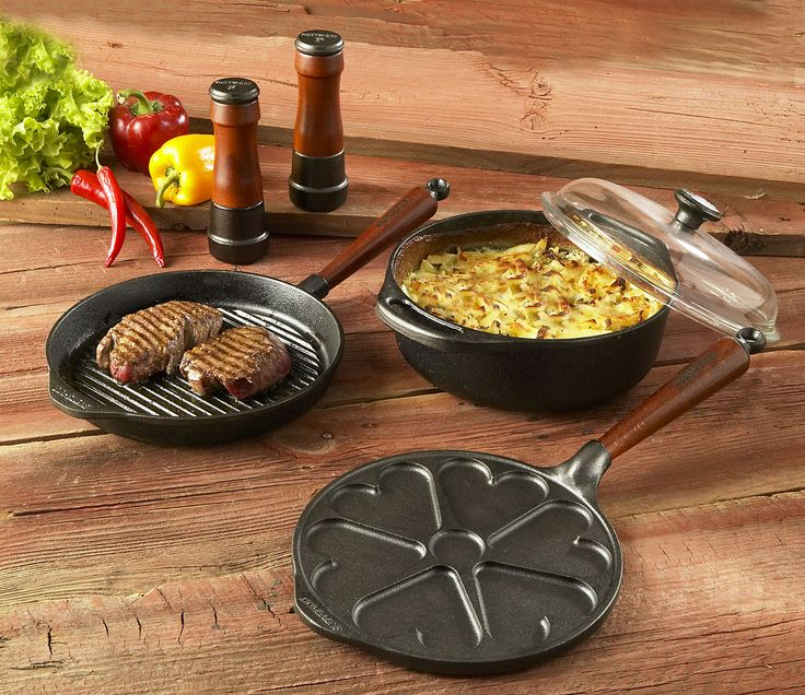 Patelnia głęboka 25 cm, szklana pokrywa - drewno - SKEPPSHULT - DECO Salon #pan #kitchenaccessories #cooking #frying #giftidea