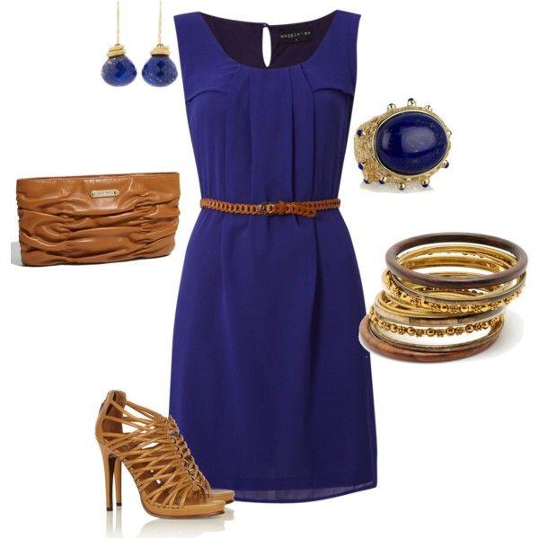 Little Blue Dress: Outfits, Fashion, Style, Clothing, Dresses, Closet