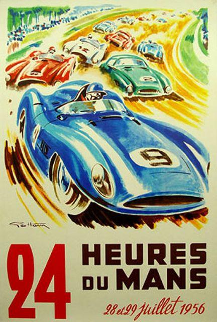 24 Heures du Mans, 1956.