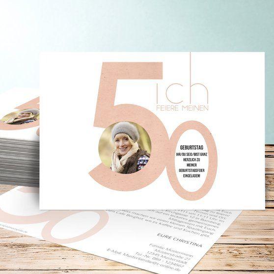 die besten 17 ideen zu einladungskarten 50 geburtstag auf pinterest einladung 50 geburtstag. Black Bedroom Furniture Sets. Home Design Ideas