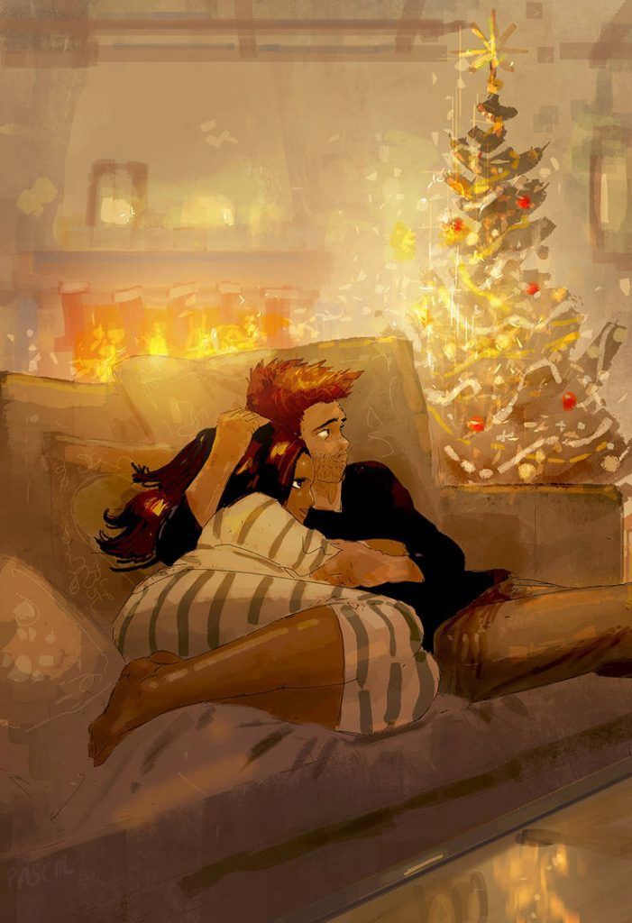 Love Is All You Need 40 Romantic Digital Illustrations By Pascal