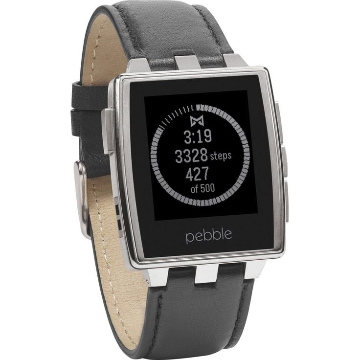 awesome Pebble Steel Smartwatch Stainless   Check more at http://harmonisproduction.com/pebble-steel-smartwatch-stainless/