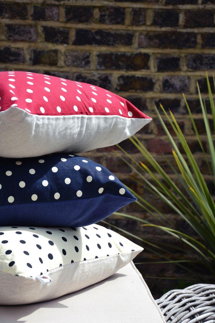 Polka Cushion Covers