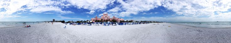 https://flic.kr/p/L2YD9Q | Magnificent Seaside Lifestyle View All Around At Don Cesar - IMRAN™ Lowes' Don Cesar is a magnificent resort in St. Petersburg Beach, Florida, where I have had some wonderful romantic getaways. This weekend was absolutely stunning in the Tampa Bay area, and it was wonderful to spend time with two lovely friends who visited from Long Island, New York, this weekend.   I had two 50MB iPhone 6S+ based panoramas from the built in Camera app (it does not do full 360)…