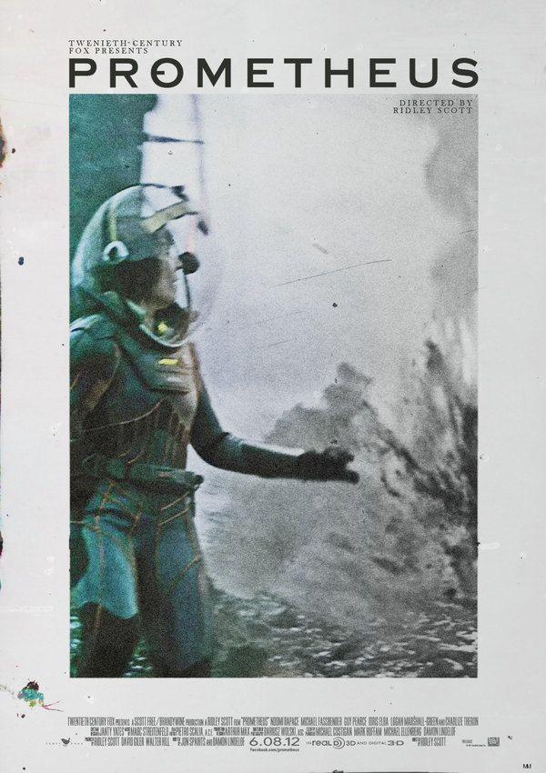 Alternate poster for Ridley Scott's Prometheus