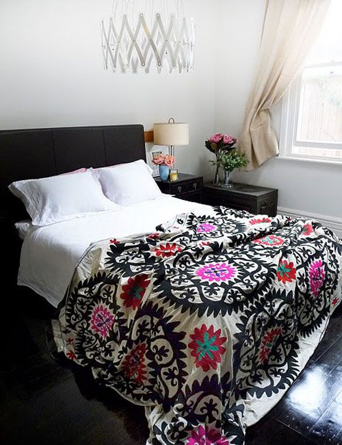 Mexican suzani patterns and bedspreads. I have become obsessed.: