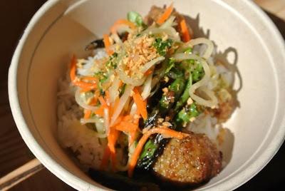 Fresh ingredients at ShopHouse Southeast Asian Kitchen!