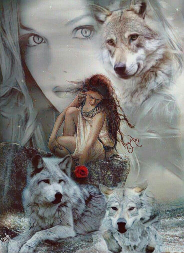 Wolf Howling Canvas Hi Tops  Fantasy Art  Men Women
