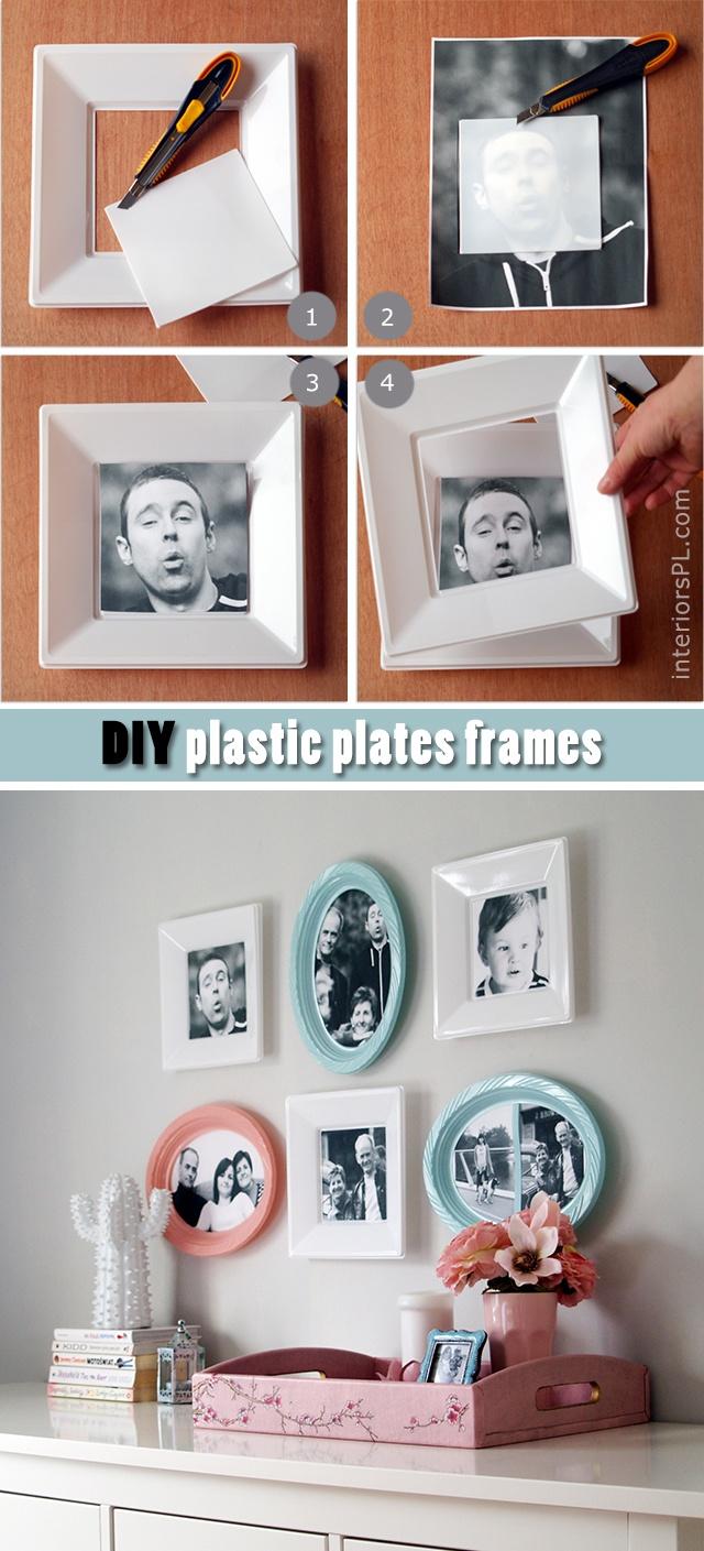 how to make cheap photo frames