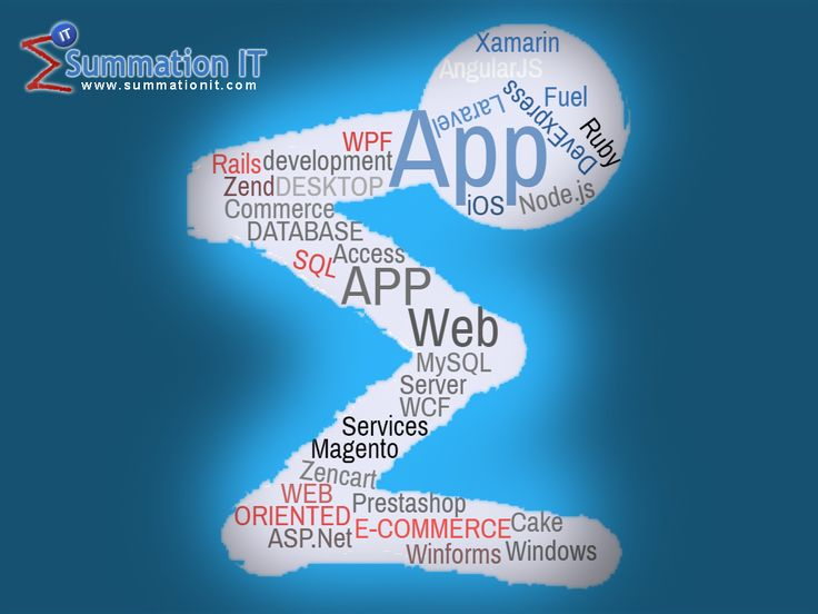 Plethora of #technologies and no.of services @ one place,#Web #Development ( #PHP, #Laravel, #Zend, #ASP.Net, #AngularJS, #node.JS, #RoR), #Mobile #App #Development ( #Android, #iOS), #Microsoft Technologies ( #WPF, #WCF, #Winforms), #ECommerce #Website #Development ( #Prestashop, #Magento) and #Software Testing ( #Selenium, Automation, Load, Performance, Mobile App Testing).  Know more at: http://www.summationit.com , Talk to us today. Email: sales@summationit.com.