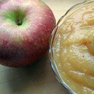 Receita de puré de maçã