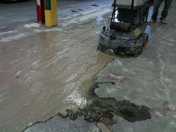 concrete slurry