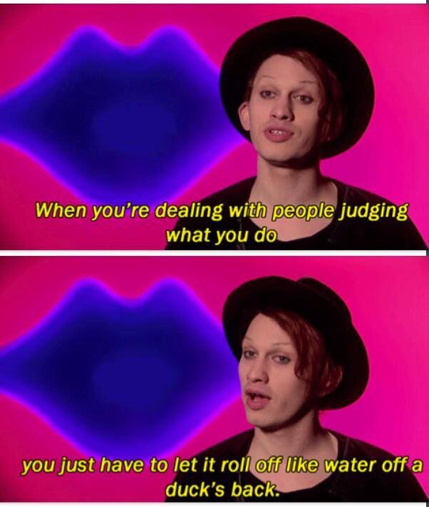 Jinkx Monsoon's wisdom
