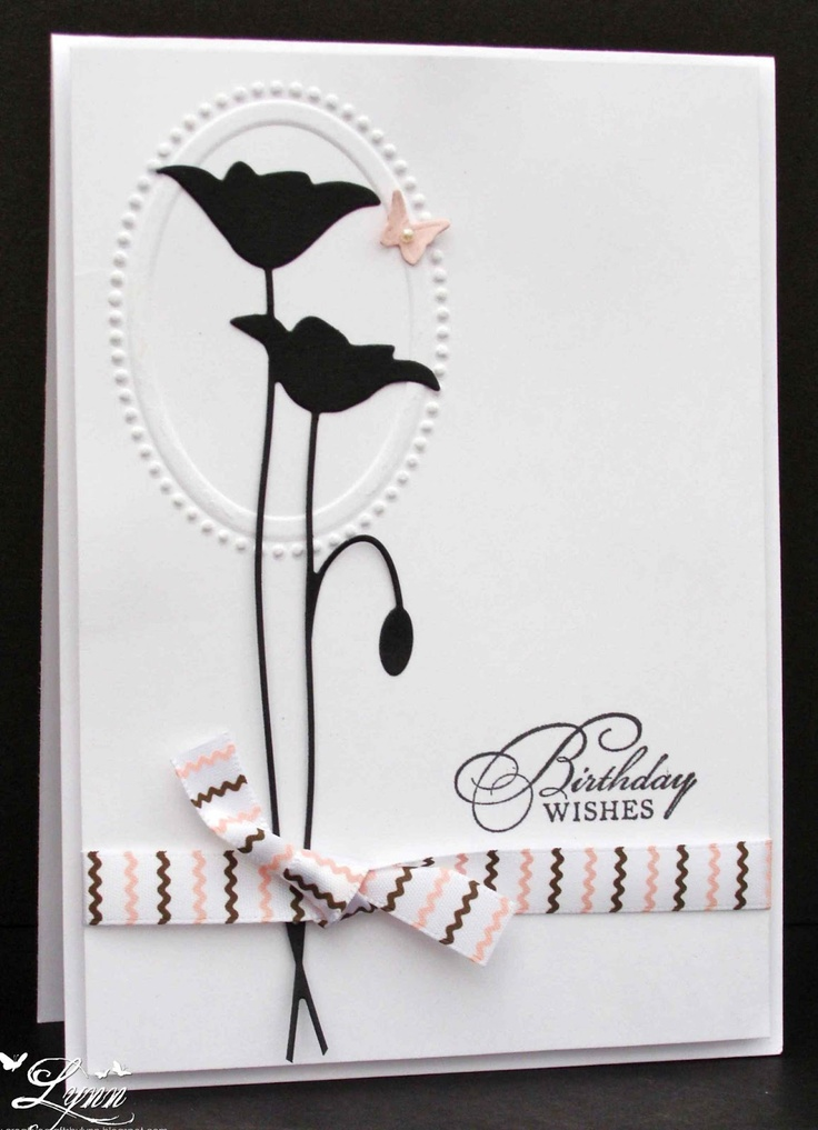 Creative Crafts by Lynn  Memory Box Poppy Die  Stampin' Up sentiment