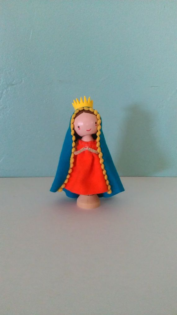 Our Lady Guadalupe  MADE TO ORDER by LittleBun on Etsy, $20.00