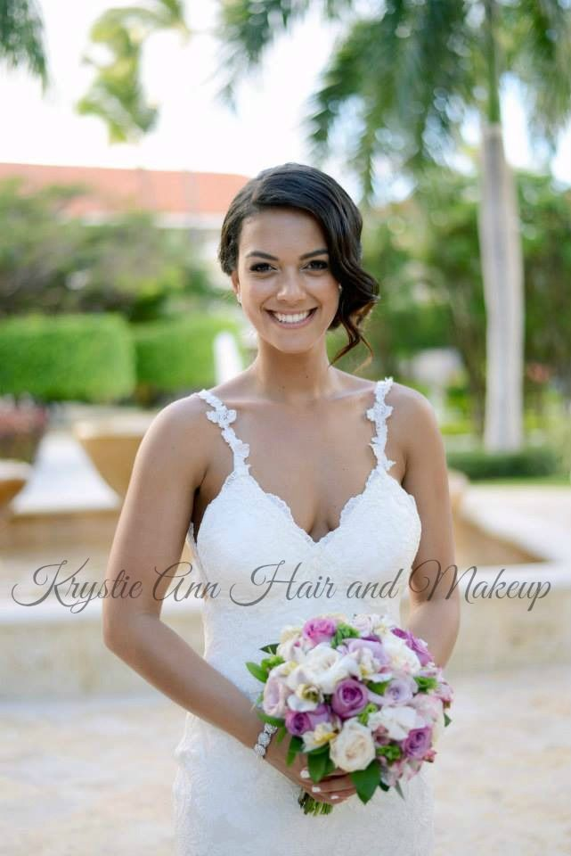 Stupendous 17 Best Images About Punta Cana Brides Krystieann Com On Hairstyle Inspiration Daily Dogsangcom
