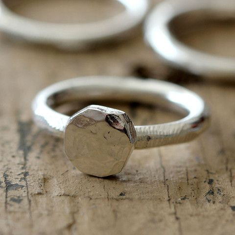 Rustic Signet Ring - praxis jewelry