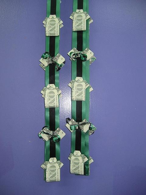 Money lei | Money Gifts | Pinterest | Money, Origami and ...