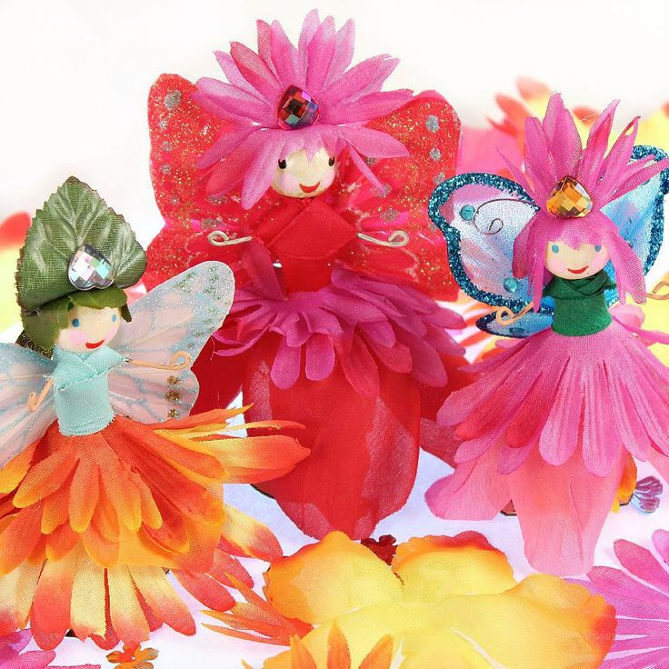 Flower Fairy Dolls DIY.  Gloucestershire Resource Centre http://www.grcltd.org/home-resource-centre/