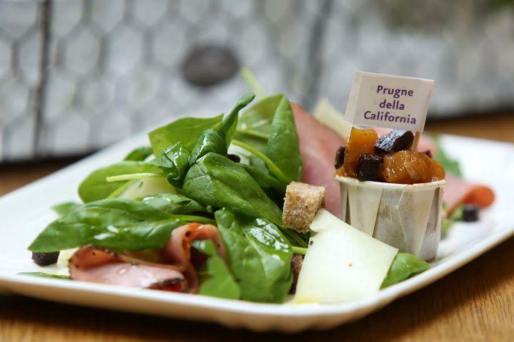 Pastrami Salad with California Prunes Chutney