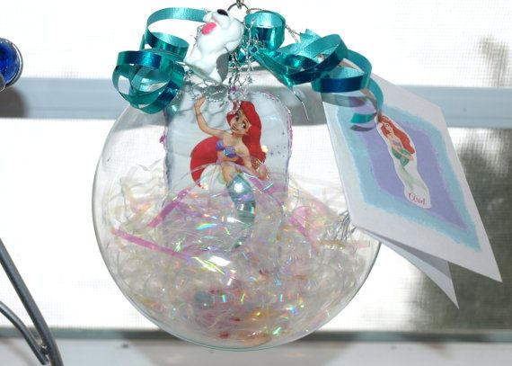 1000 images about little mermaid christmas on pinterest for Ariel christmas decoration