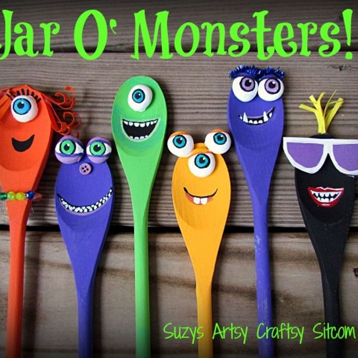 Jar O' Monsters Halloween Decor