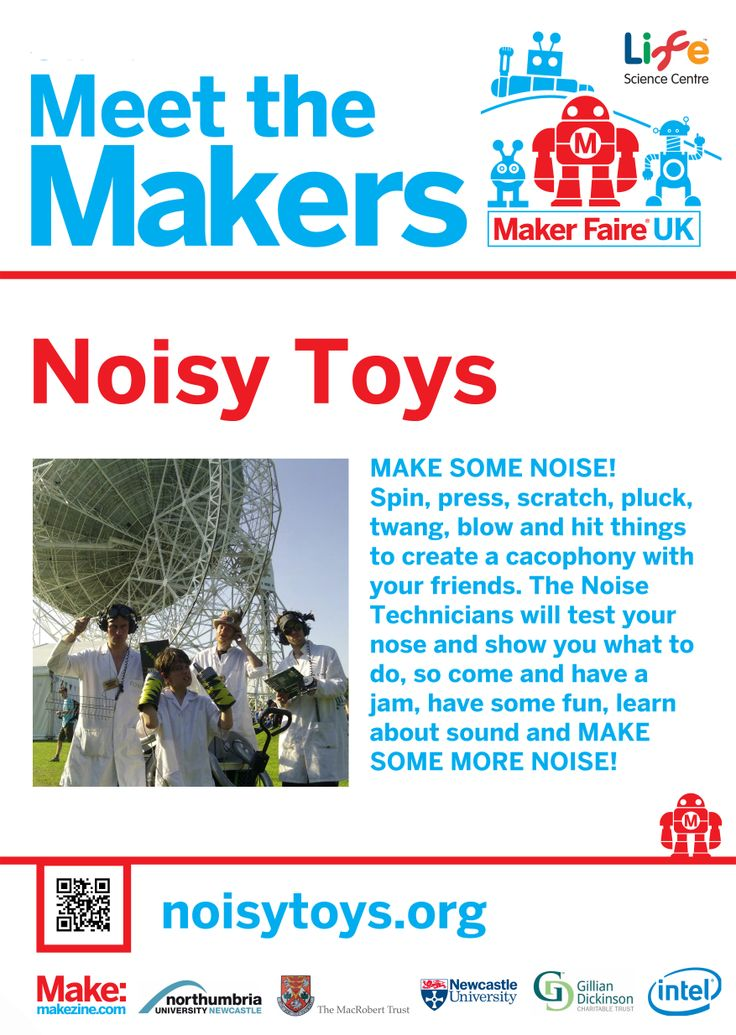 Noisy Toys at Maker Faire UK 2014