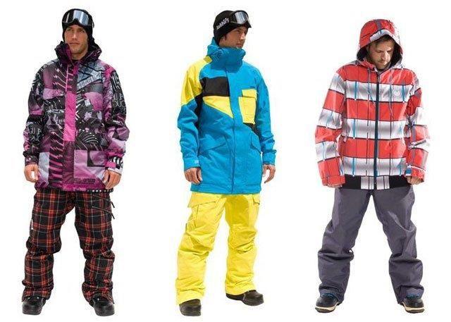 Зимний костюм для сноуборда