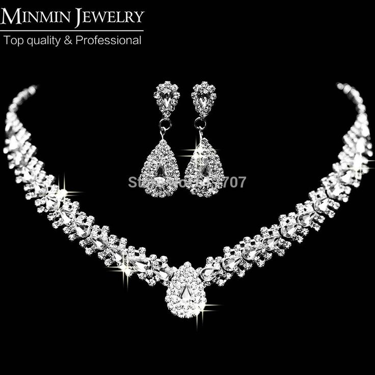 Cheap jewelry design, Buy Quality jewelry package directly from China earrings opal Suppliers:     Hot Selling Double Twist Crystal Choker Necklace Earrings Wedding Jewelry Sets Sterling Silver Jewelr