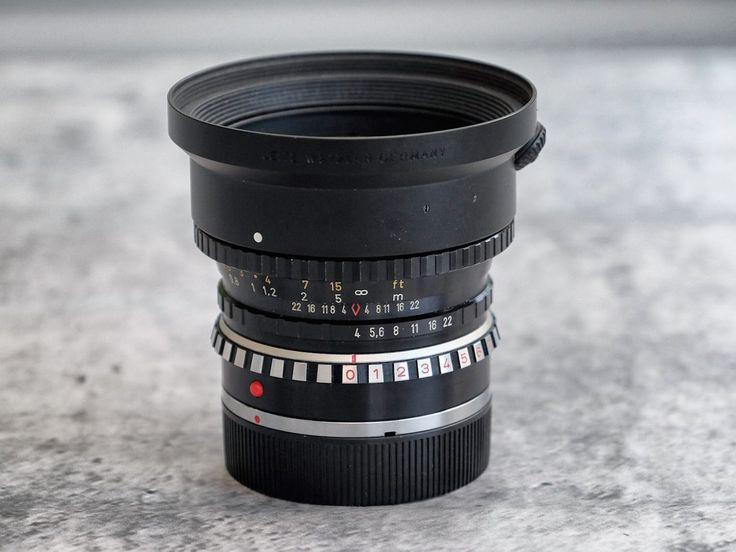 Annons på Tradera: Schneider PA-Curtagon 35mm f/4 (Shift objektiv)