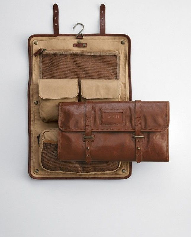 Help your man stay organized with this super cool travel case.